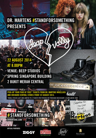 DEAP VALLEY Gig Singapore Social poster