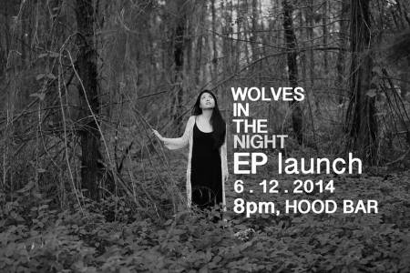 Wolves in the night EP Launch poster