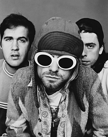 15 Aug 1993 --- Rock Band Nirvana --- Image by © Jesse Frohman/CORBIS OUTLINE