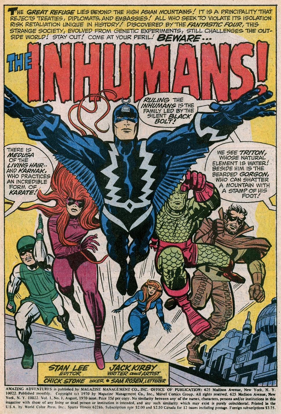Kirby Inhumans