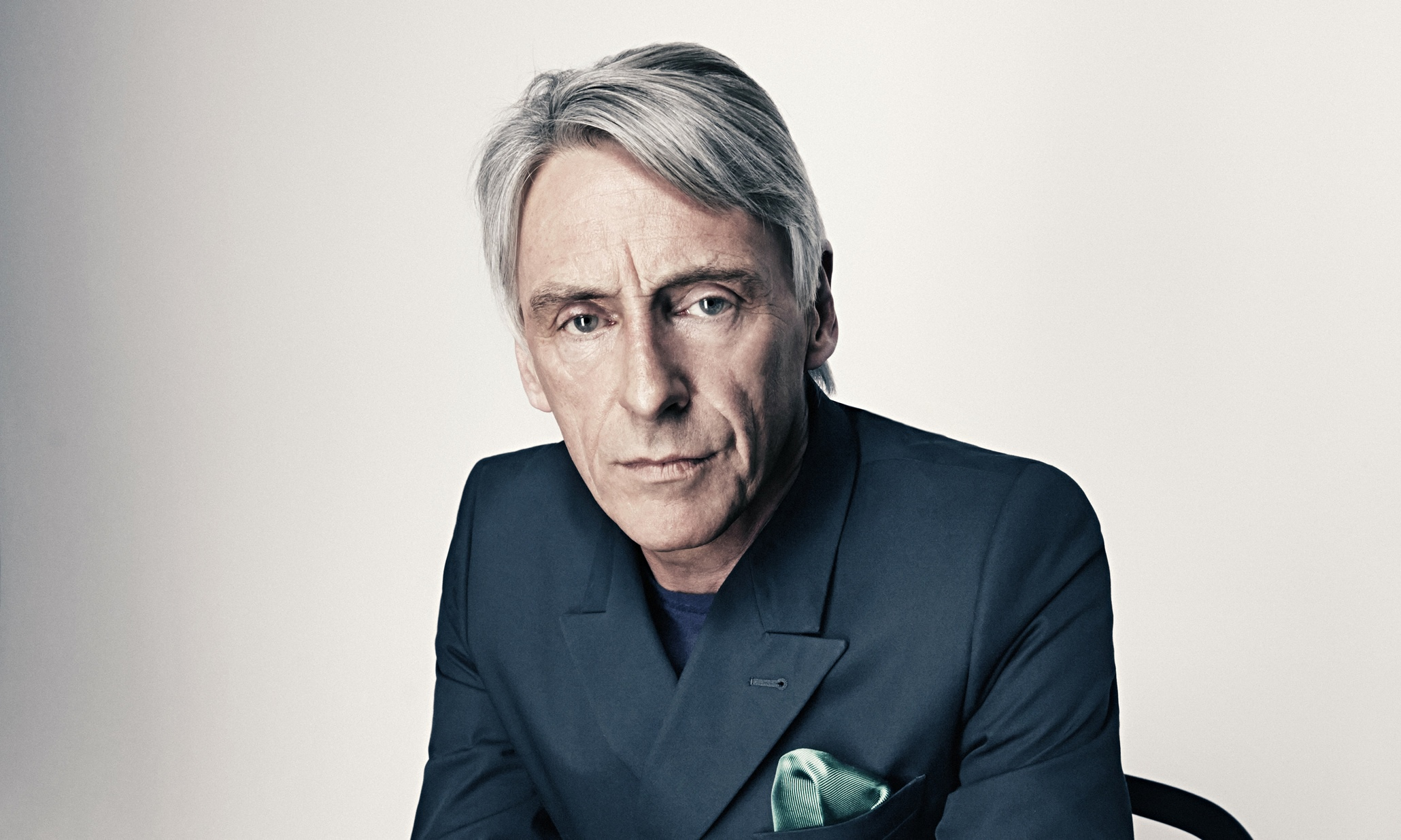 paul weller shot for the observer magazine