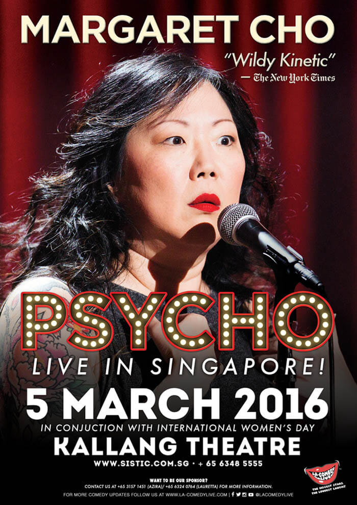 Margaret Cho Singapore Tour Art