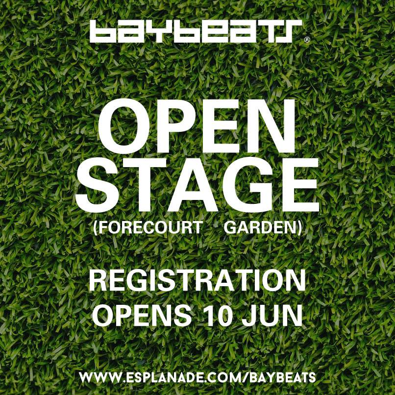 Baybeats Open Stage