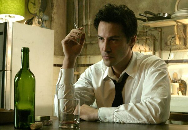 Constantine, a 2005 horror movie starring Keanu Reeves.