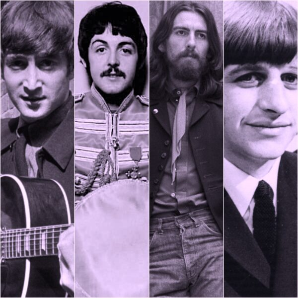 John, Paul, George and Ringo! The Beatles!!