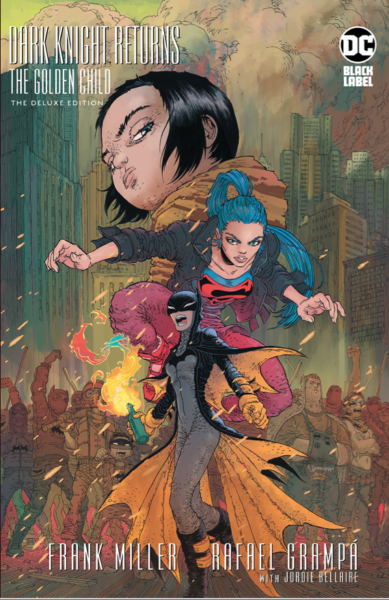 Cover image of Dark Knight Returns : The Golden Child.