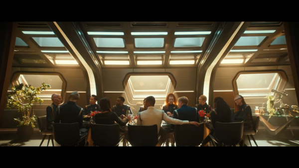 The crew of Discovery