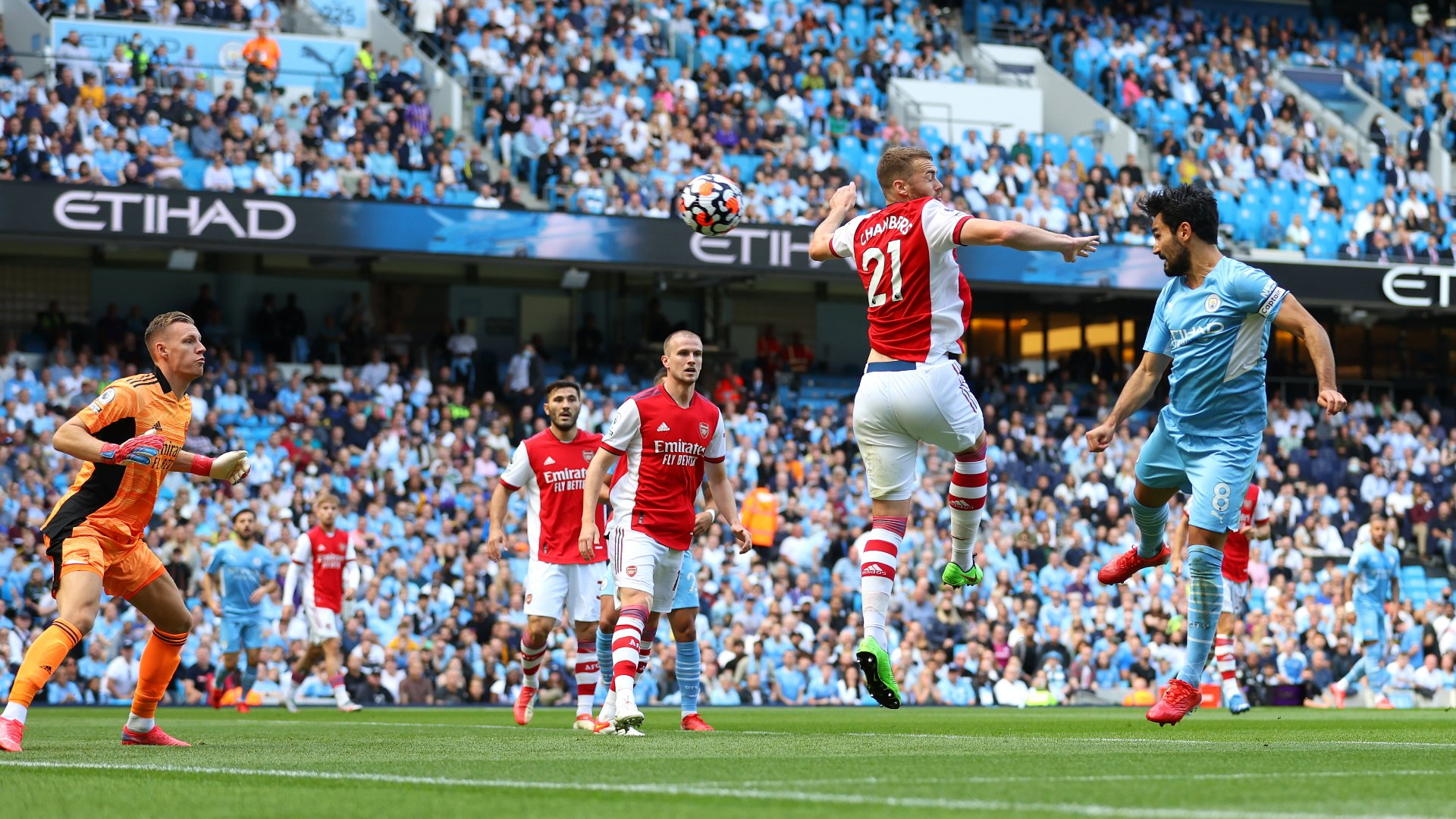 Manchester City vs Arsenal.